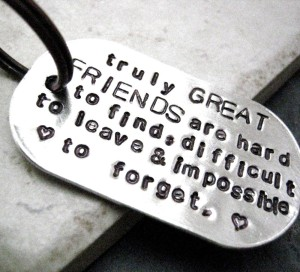 Friendship necessitates vulnerability.