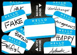 who will you be name tags