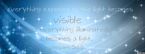 Ephesians 5:13