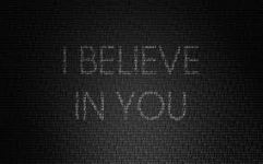 i believe in you 3