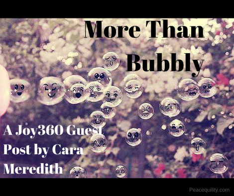 More Than Bubbly