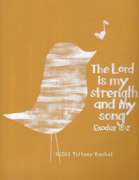 Exodus 15:2 nlt | 06-29-13 Today's Bible Scripture. | Bob Smerecki ...