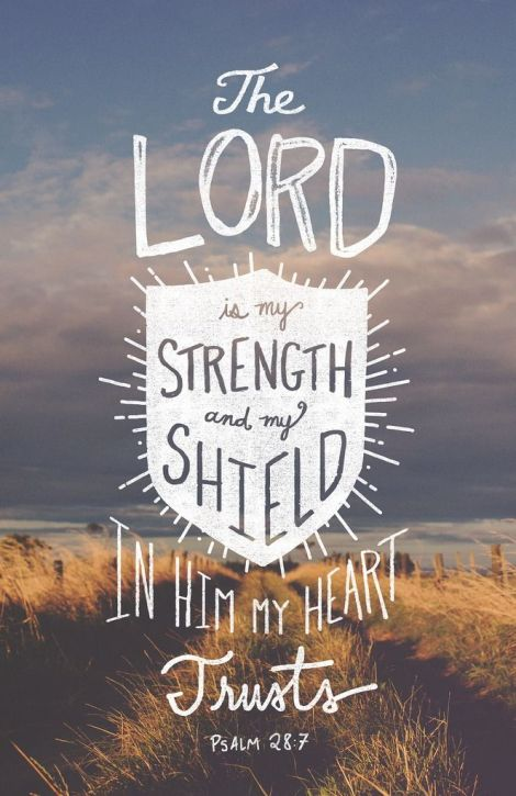 Psalm28:7