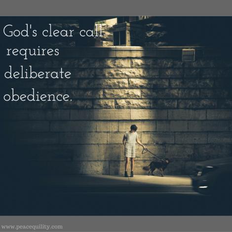 God's clear call