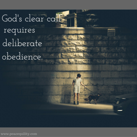 God's clear call