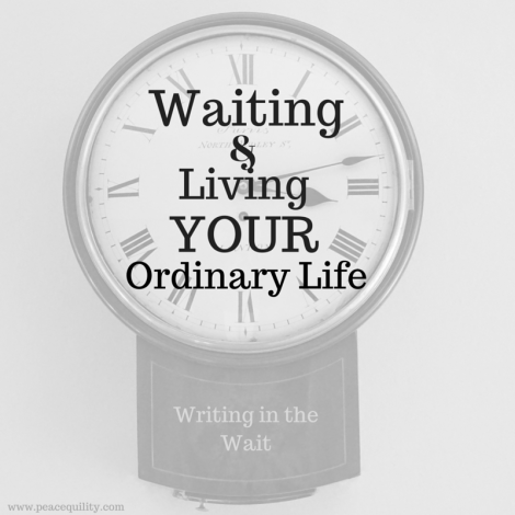 Living the Ordinary