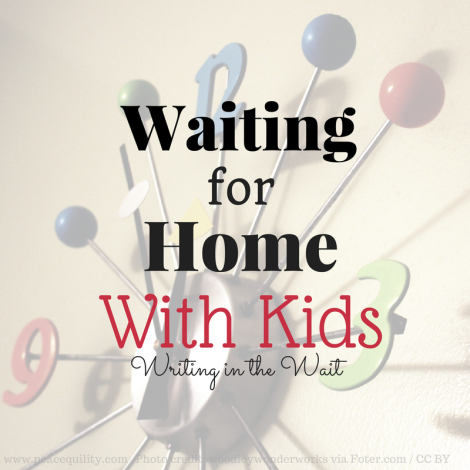 Waiting With Kids