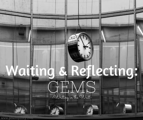 waiting-reflecting